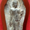 พระฉลอง ๒๕ พุทธศตวรรษ ปี๒๕๐๐ เนื้อชิน บล๊อคหางหงส์ เลี่ยมเก่า