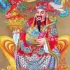 เทพชาวจีน ครอสติสคริสตัล Diamond painting ภาพติดเพชร งานฝีมือ DIY