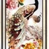 นกยูงดำ ครอสติสคริสตัล Diamond painting ภาพติดเพชร งานฝีมือ DIY