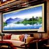 แม่น้ำภูเขา ครอสติสคริสตัล โมเสก Diamond Painting
