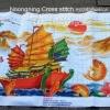 ภาพครอสติชเรือสำเภา เทพเจ้ากวนอู และเจ้าแม่กวนอิม ปลาคาร์ฟ ของแต่งบ้านมงคล เพิ่มดวง และเสริมฮวงจุ้ยให้กับเจ้าของบ้าน