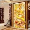 มังกรทอง ครอสติสคริสตัล Diamond painting ภาพติดเพชร งานฝีมือ DIY