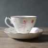ชุดชาสไตล์อังกฤษ Ballet cup and saucer set