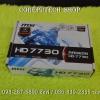 Graphic Card AMD Radeon MSI HD7730 2GB DDR5 New
