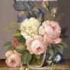 ดอกกุหลาบ ภาพติดเพชร