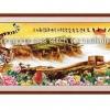 เสือและกำแพงเมืองจีน ชุดปักครอสติช พิมพ์ลาย งานฝีมือ
