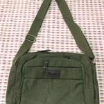 กระเป๋าสะพายข้าง(สีเขียว)