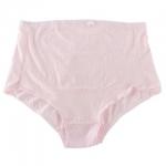 กางเกงในคนท้อง เอวสูง ผ้าย่น มียางยืดปรับระดับ สีชมพู มีไซส์ L , XL