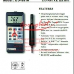 เครื่องวัดค่าออกซิเจนในน้ำ (D.O.) Oxygen Meter