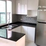 Glossy White Modern Kitchen (ชุดครัวบิวท์อินสีขาวเงาสไตล์โมเดิร์น)