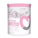 Amado P-collagen Tripeptide Plus C อมาโด้ พี คอลลาเจน (กระป๋องชมพู) ศูนย์จำหน่ายราคาส่ง ผิวดี กระดูกแข็งแรง ส่งฟรี
