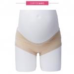 กางเกงในคนท้อง เอวต่ำ ขอบขาผ้า สีเนื้อ มีไซส์ L , XL