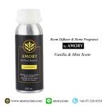 กลิ่น Vanilla & Mint 250 ml. Refilled diffuser รีฟิลน้ำหอมอโรม่าปรับอากาศ