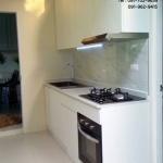Double White Modern Kitchen (ชุดครัวบิวท์อินสีขาวสไตล์โมเดิร์น)
