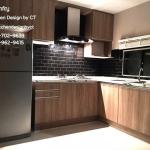 Modern Style Wooden Kitchen (ครัวบิวท์อินลายไม้สไตล์โมเดิร์น)