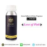 กลิ่น Love of Pink 250 ml. Refilled diffuser รีฟิลน้ำหอมปรับอากาศ