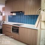 Oak Modern Kitchen (ชุดครัวบิวท์อินสีโอ๊คสไตล์โมเดิร์น)