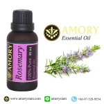 โรสแมรี่ น้ำมันหอมระเหย 30 มล. Rosemary 100%Pure Essential Oil 30 ml.