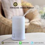 เครื่องพ่นไอน้ำอโรม่า 100 ml. Classic Home spa Ultrasonic Aroma Diffuser
