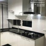 Black & White Modern Kitchen (ครัวบิวท์อินสีขาว-ดำสไตล์โมเดิร์น)