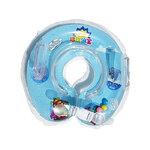 ห่วงยางคอเด็ก ห่วงยางคอทารก แสนน่ารัก (วงกลม) สีฟ้า