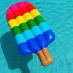 แพยางไอศครีม Popsicle Inflatable