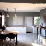Modern Loft Kitchen (ครัวบิ้วอินสีขาวสไตล์โมเดิร์นลอฟท์)