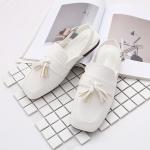 Pre-Order รองเท้าหนังเทียมประดับพู่ มีสายรัดข้อเท้า
