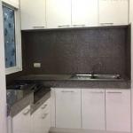 Classic Black & White Kitchen (ชุดครัวบิ้วอินทับโครงปูนสีขาว)