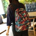 กระเป๋าเป้สะพายหลังใช้ได้ทั้งชาย-หญิง กระเป๋าเป้สไตล์เกาหลี - สีแดง (มี 2 ขนาด)