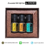 กระดังงา/ส้ม/ยูคาลิปตัส GiftSet ของขวัญ น้ำมันหอมระเหย Essential Oil