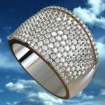 Ring D-Design (แบบแหวนเพชรเม็ดเล็กกว่า 3 mm.)