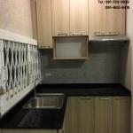 Woody Modern Kitchen (ครัวบิวท์อินลายไม้สไตล์โมเดิร์น)