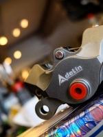 ปั้ม Adelin ตัวใหม่ มี 4 สี แดง , ดำ , เทา , ทอง