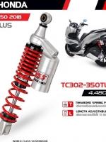 โช็ค YSS G-PLUS ALL NEW PCX 150 2018 TG302-350TRL ราคา3750