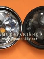 ไฟหน้า6นิ้ว LED แปลงใส่ได้ทุกรุ่น สีเงิน สีดำ ราคา1700