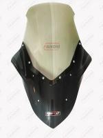 ชิวหน้า (SIX-SPEED) N-MAX ทูโทน รุ่น HERO บนสีชาล่างดำ ราคา1200