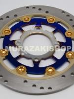 จานสีไทเทเนียม-ทอง 220MM ราคา1250