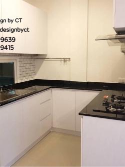 Modern Glossy White Kitchen (ชุดครัวบิวท์อินสไตล์โมเดิร์นสีขาวเงา)