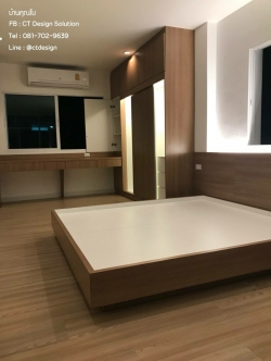 Zen Style Bedroom (เฟอร์นิเจอร์บิ้วอินสไตล์เซน)