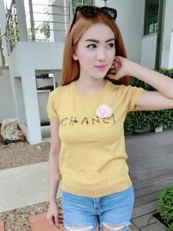 TP0016 เสื้อผ้าแฟชั่น เสื้อผ้าเกาหลี เสื้อผ้าแฟชั่นเกาหลี เสื้อเกาหลี เสื้อแฟชั่น เสื้อแขนสั้น