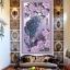 นกยูงม่วง ครอสติสคริสตัล Diamond painting ภาพติดเพชร DIY thumbnail 2