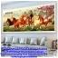 แจกันดอกไม้ ภาพติดเพชร ครอสติชคริสตรัล โมเสก Diamond painting thumbnail 21