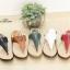 รองเท้าแตะผู้หญิง แบบหนีบ ใส่ลำลอง (สีแดง ) thumbnail 4
