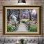 ฝูงเสือโคร่ง ภาพติดเพชร ครอสติชคริสตรัล โมเสก Diamond painting thumbnail 15