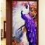 แจกันดอกไม้ ภาพติดเพชร ครอสติชคริสตรัล โมเสก Diamond painting thumbnail 15