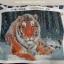 เสือโคร่ง ครอสติสคริสตัล Diamond painting ภาพติดเพชร งานฝีมือ DIY thumbnail 7
