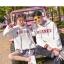 Pre-Order สเวตเตอร์ฮู้ดคู่รัก พิมพ์ลาย PLANET / THE SUN สีขาว thumbnail 9