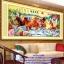 ม้า8มงคล ภาพติดเพชร ครอสติชคริสตรัล โมเสก Diamond painting thumbnail 2