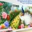 ดอกไม้+ปลา ชุดปักครอสติช พิมพ์ลาย งานฝีมือ thumbnail 16